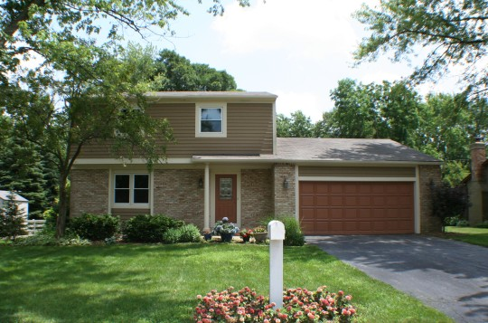 Complete renovation project for small family home in Dublin, Ohio.
